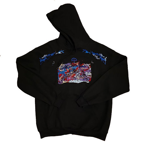 """RIDE v3"" ONE-OFF HOODIE"