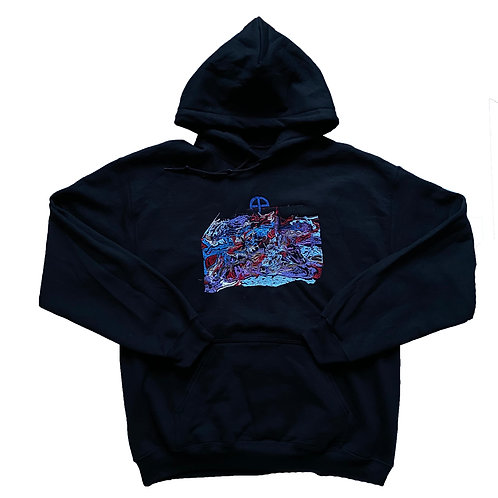 """RIDE v2"" ONE-OFF HOODIE"