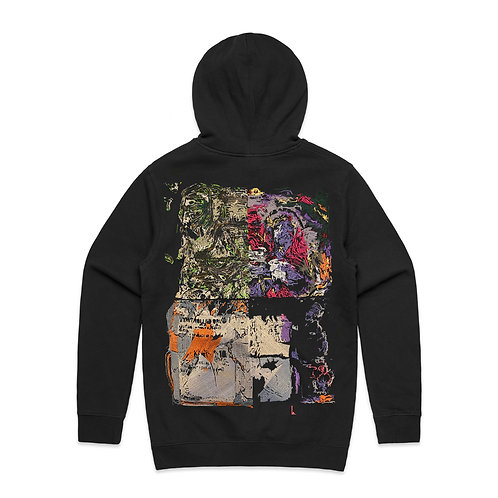 """Positivity 10mg Race"" ONE-OFF HOODIE"