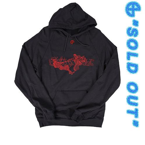 Red Creation Hoodie