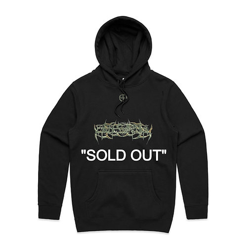 """""""BLADES IN CAMO"""" HOODIE, EDITION OF 10"""