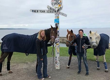 John O'Groats to Land's End on horseback