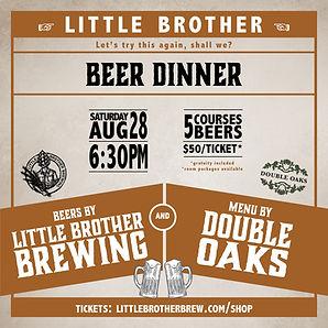 Little Brother Beer Dinner