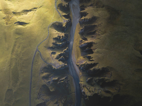 Aerials of Iceland by Chase Teron