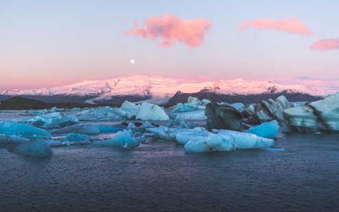 Jokulsarlon Chase Teron Sunrise Iceland