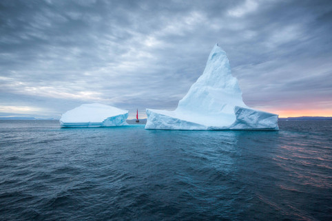 Sailing in Disko Bay Greenland Photo Tour Chase Teron