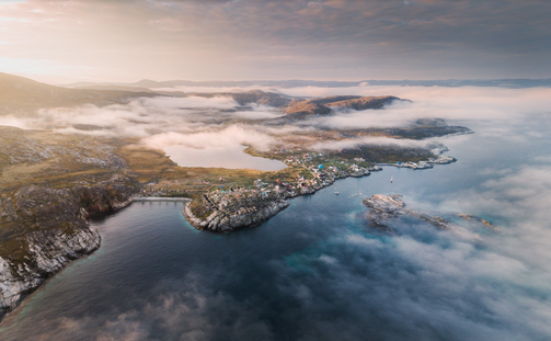Ilimanaq, Greenland near Ilulissat Chase