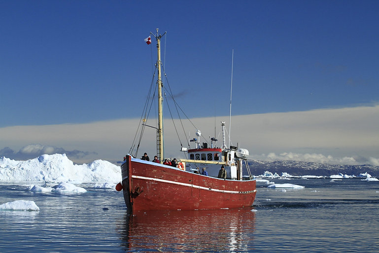 Greenland Photography Tours Artica Studios Boat