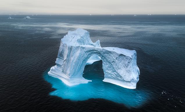 Greenland Icebergs Chase Teron