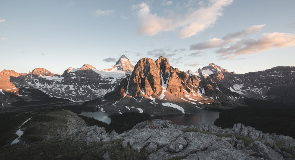 Explore the back country of the Canadian Rockies