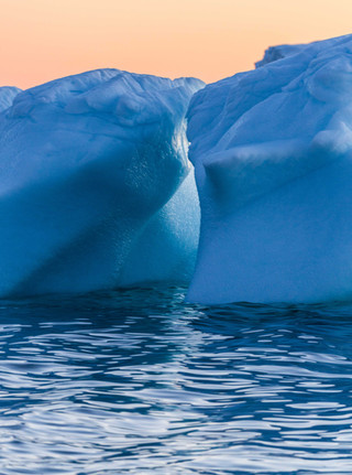 Iceberg Melting in Greenland by Chase Teron