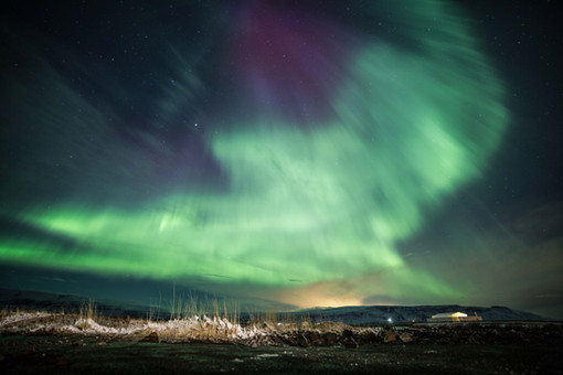 Chase Teron Eagle Aurora Iceland