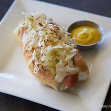 Hot Dog with Sauerkraut