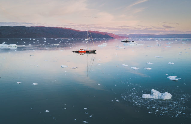 Chase Teron Greenland Sailing Photo Tour