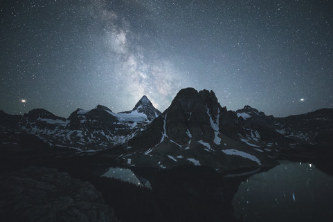Mount Assiniboine Milky Way Chase Teron