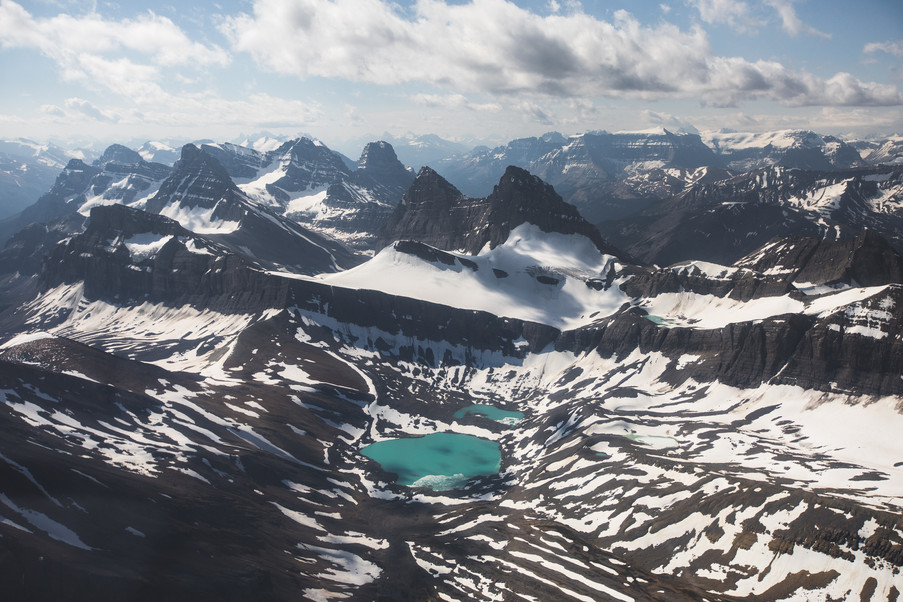 Canadian Rockies Aerial Jenni Lisacek
