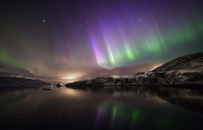 Iceland Northern Lights by Chase Teron