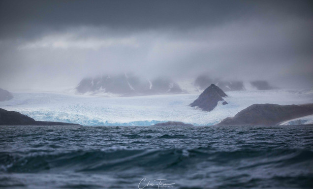 Svalbard in August Glacier photo by Chase Teron