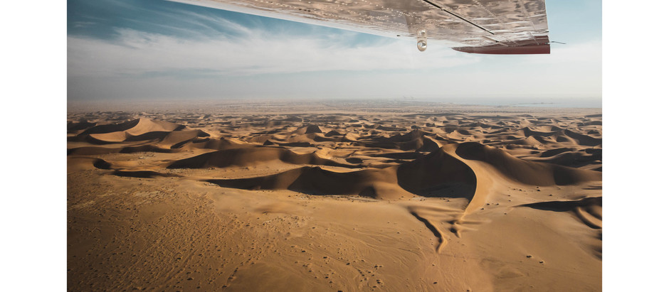 Flying Over the Oldest Desert in the World: The Namib Desert an Aerial Collection by Chase Teron