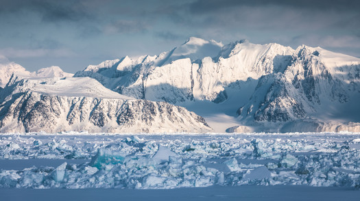 Svalbard Spitsbergen Mountains in May by Chase Teron
