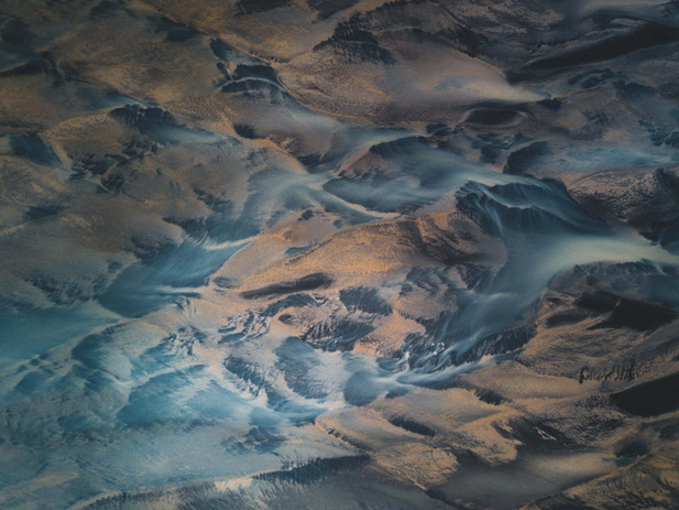 Iceland's Braided River System by Chase Teron Photographer @Chase.Teron