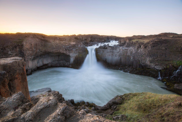 Aldeyjarfoss waterfall Chase Teron Photography