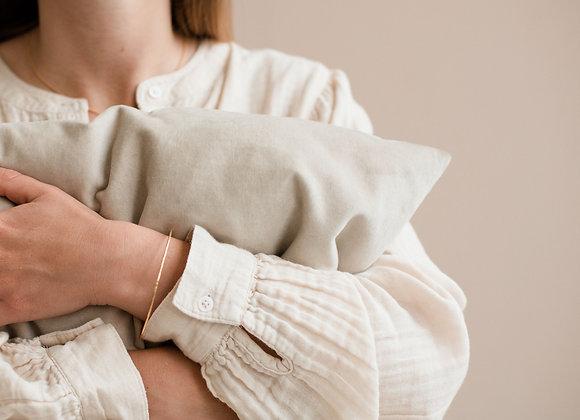 Bracelet Jonc ovale aperçu porté