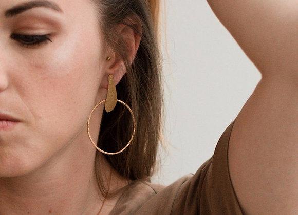 Boucles d'oreilles Nakai aperçu porté