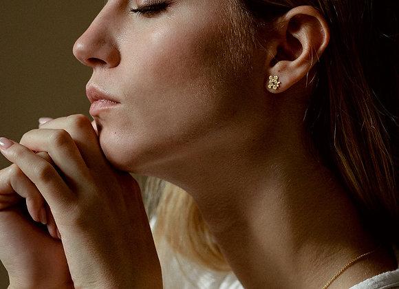 Boucles d'oreilles clous Sveta