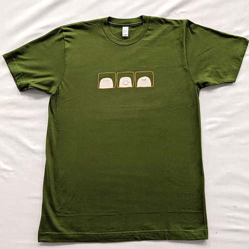 """Mr Scruff """"tea drinker"""" T Shirt - Green"""