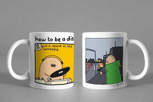 Pair of Mugs (DJ-Kicks & How to be a Disc Jockey)