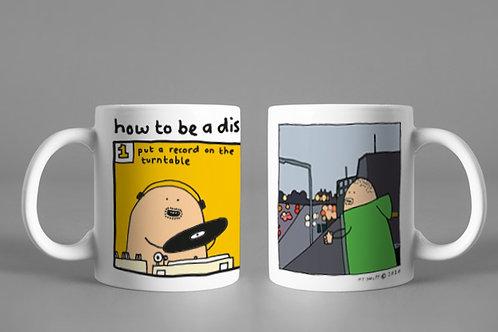 "Pair of Mugs ""DJ-Kicks"" & ""How to be a Disc Jockey"""