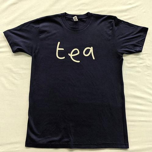 "Mr Scruff ""tea"" T Shirt - Navy"