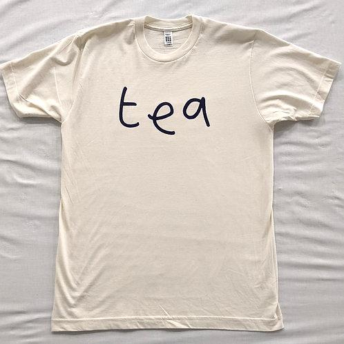 """Mr Scruff """"tea"""" T Shirt - Cream"""