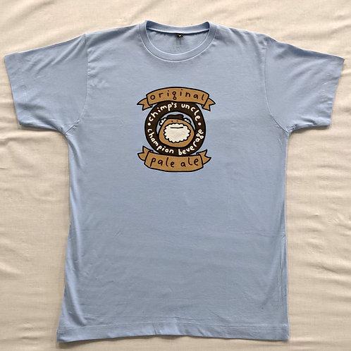 """Mr Scruff """"chimps uncle"""" T Shirt"""