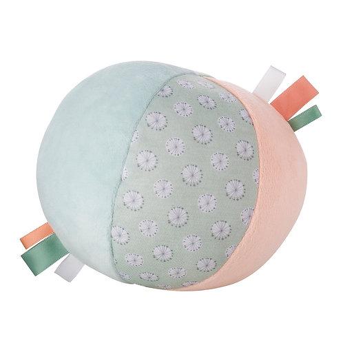 Baby Ball mit Schlittenglocke / Grün