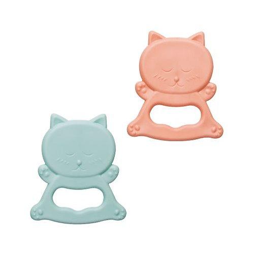 """""""Little Animals"""" Rubber Teethers / Katzen"""
