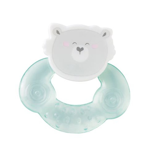 """Cool animals"" Water Teether / Grün"