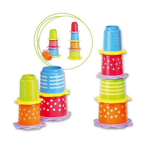 Stackable Cubes with Teething Ring