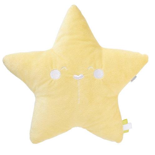 """""""Wild Star"""" Kissen / Gelb"""