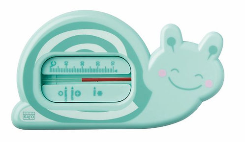 Snorkels Badethermometer Schnecke
