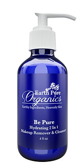 Be Pure-2 in1 Make up Remover & Cleanser