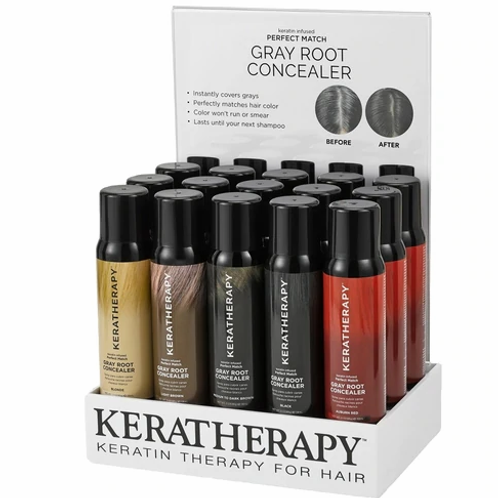 Keratherapy Gray Root Concealer- 5 Shades Available!