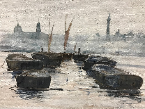 Rust coloured sails