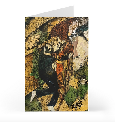 Lovers Embrace Card
