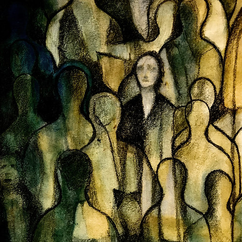 Alone amongst the crowd