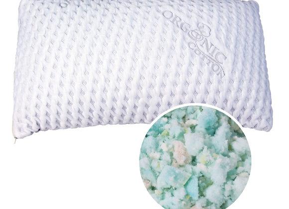 King Shredded Foam/Latex Pillow