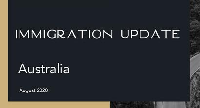 Immigration Update (Webinar)