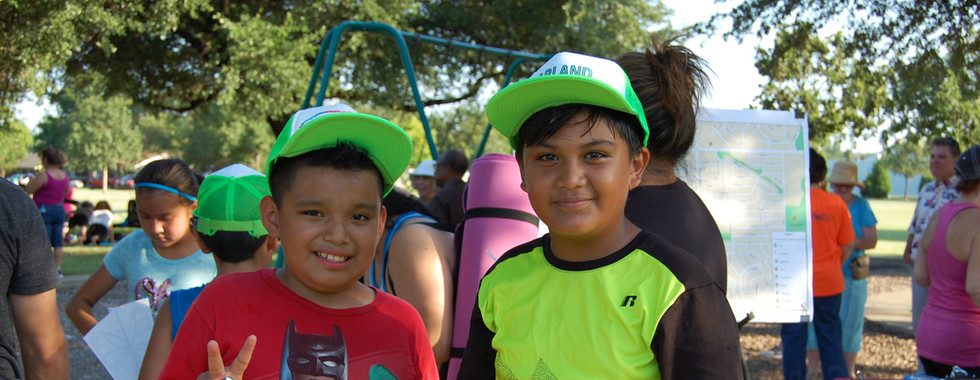 Young residents enjoying the Life Cycle Event at Armstrong Park