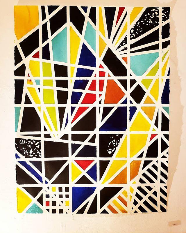 New work on paper. #modernart #phillyart